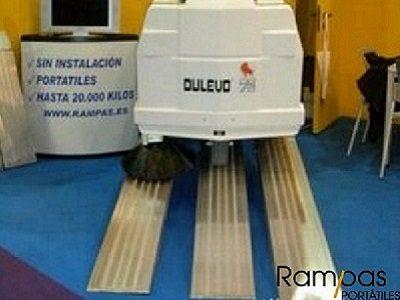 Rampas de 300 cm para fregadoras