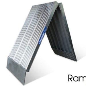Mono rampa plegable PSL de aluminio