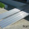 Mono rampa plegable PSL de 50 cm de ancho de aluminio