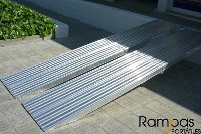 Mono rampa plegable PSL de 0,75 metro de ancho