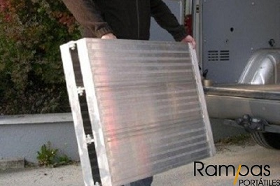 Mono rampa plegable PSL de 0,5 metro de ancho