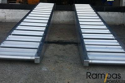 Serie RCL - Rampas Sin Bordes aluminio 3