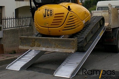 Serie RCL - Rampas Sin Bordes aluminio