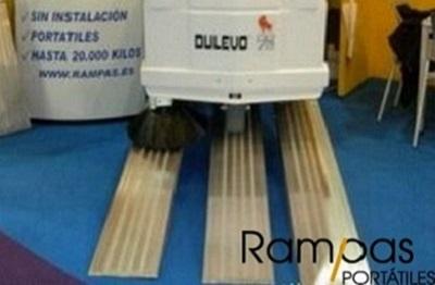 Rampas rígidas reforzadas RCO