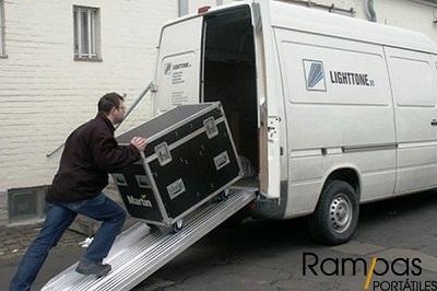 Mono Rampa RSL aluminio rack