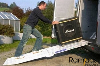 Mono Rampa RSL aluminio iluminacion
