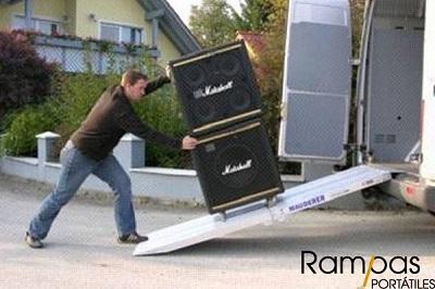 Mono Rampa RSL aluminio evento fregadora