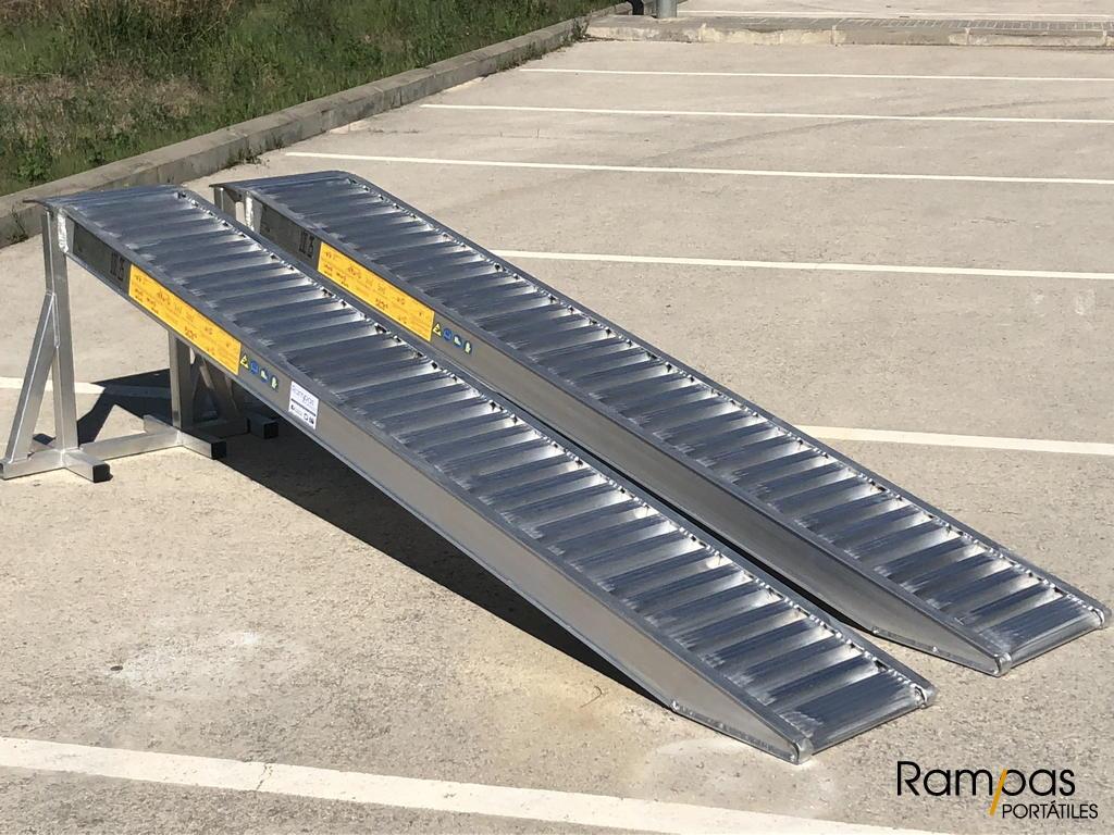 rampa sin bordes de aluminio RCL