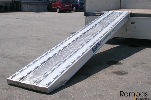 Serie RXOL – Rampas Dentadas de aluminio