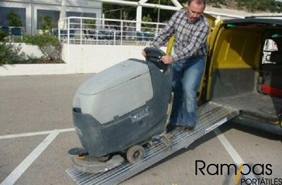 Rampas rígidas RAO sin bordes de aluminio