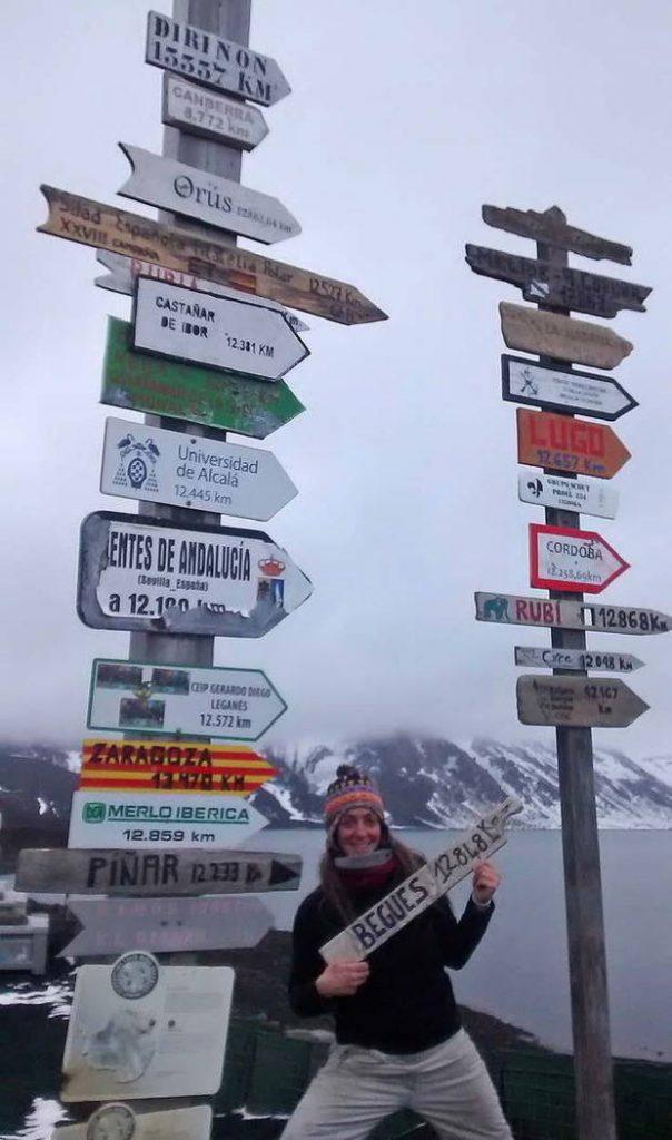 Distancia entre nuestra empresa y la Rampas en la Antártida 12848 Km