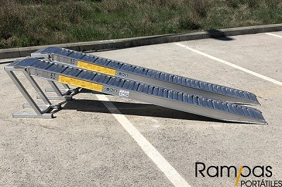 Rampas de remolques sin bordes de grosor 85mm
